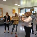 visita dos franceses ao CRID