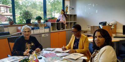 Professoras de Cabo Verde no CRID