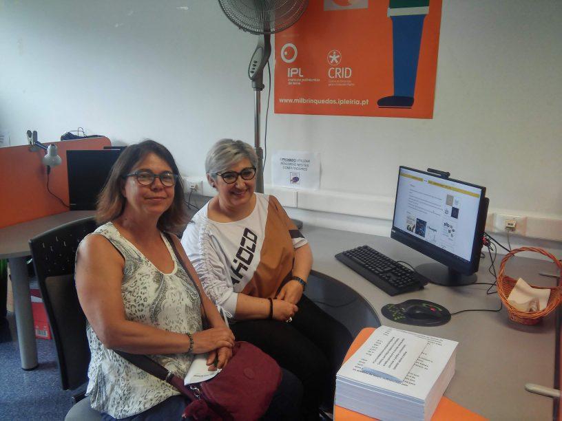 Visita da Professora Doutora Cláudia Rodrigues de Freitas (UFRGS)