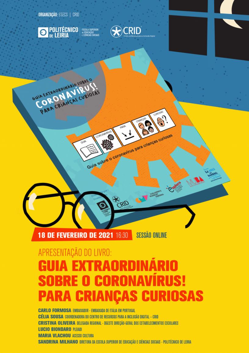 Convite para apresentação do livro
